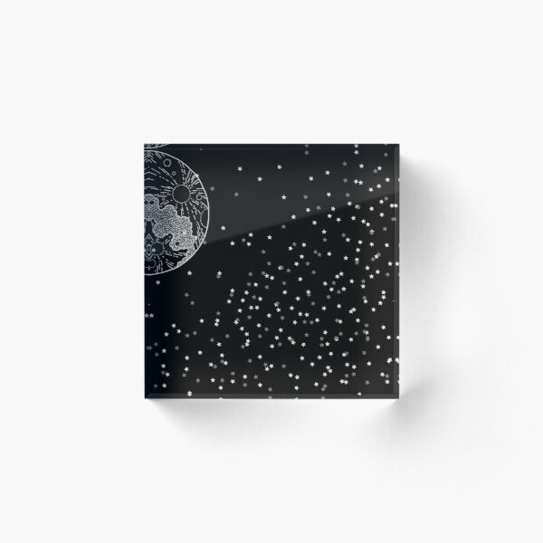 Galaxy Acrylic Block