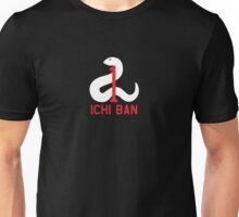 "SR71 Blackbird ""Ichi Ban"" -  9th Strategic Reconnaissance Wing Unisex T-Shirt"