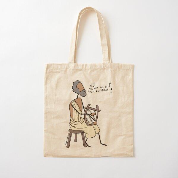 Greek Myth Comix - Demodocus the Bard Cotton Tote Bag