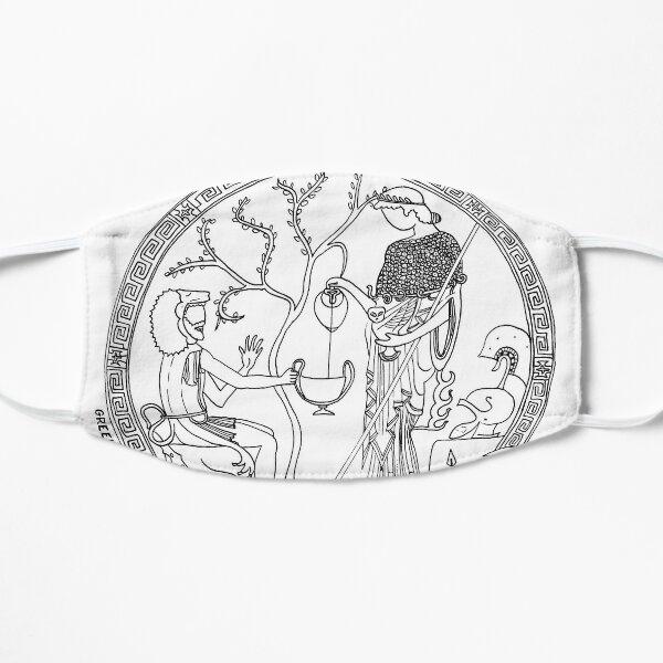 Greek Myth Comix - Athene and Heracles roundel Mask