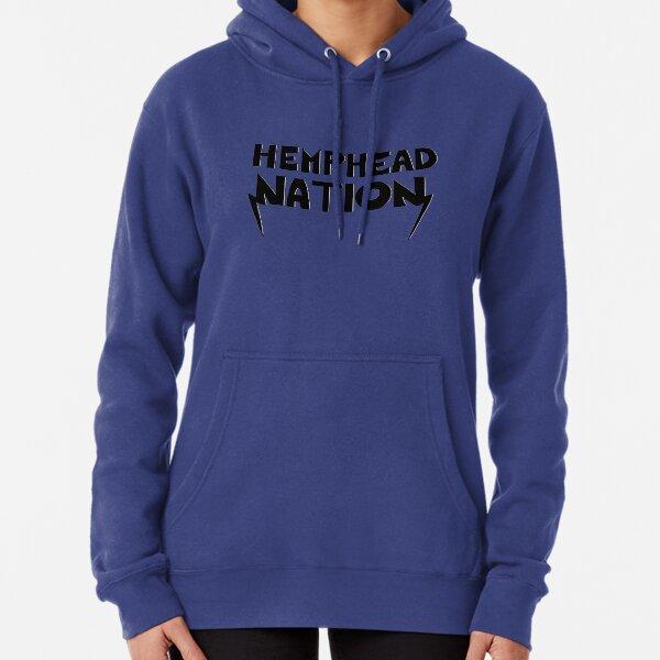 Hemphead Nation Shirt - Blue Pullover Hoodie