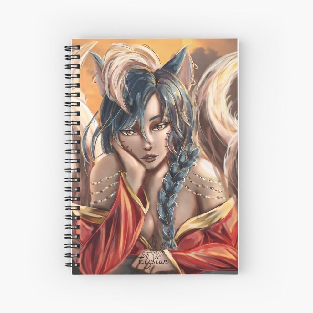 Nine tailed fox Spiral Notebook