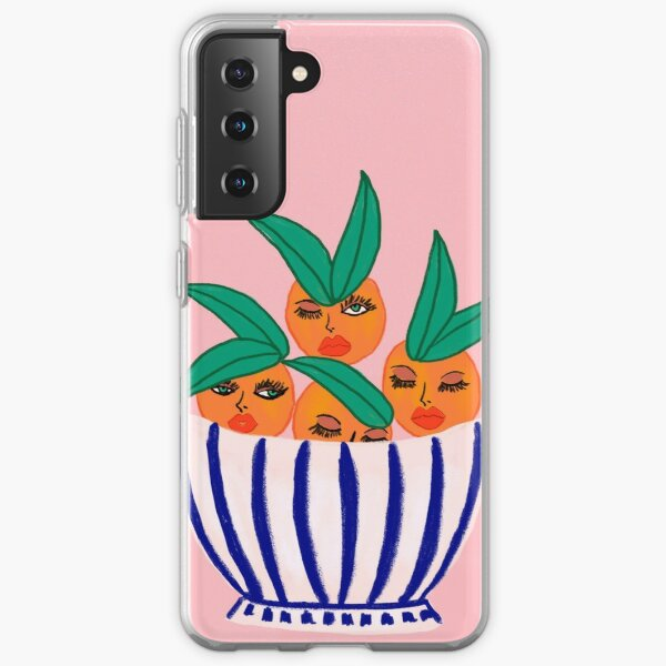 Sassy Oranges In A Bowl Samsung Galaxy Soft Case