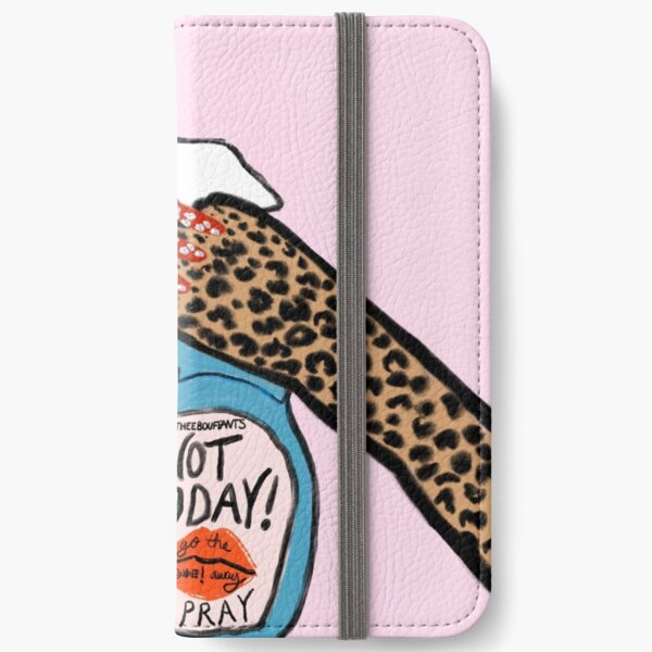 Not Today Spray iPhone Wallet