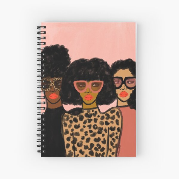 Shade Squad Spiral Notebook