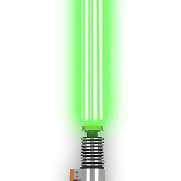 Star Wars - Luke's Light 'Saver' by fabulouslypoor