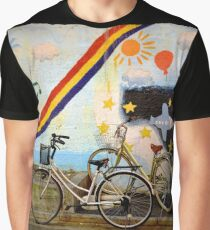 tokyo bicycle and rainbow Graphic T-Shirt