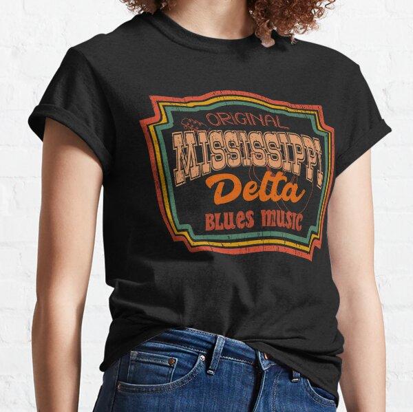 Mississippi original delta blues music Classic T-Shirt