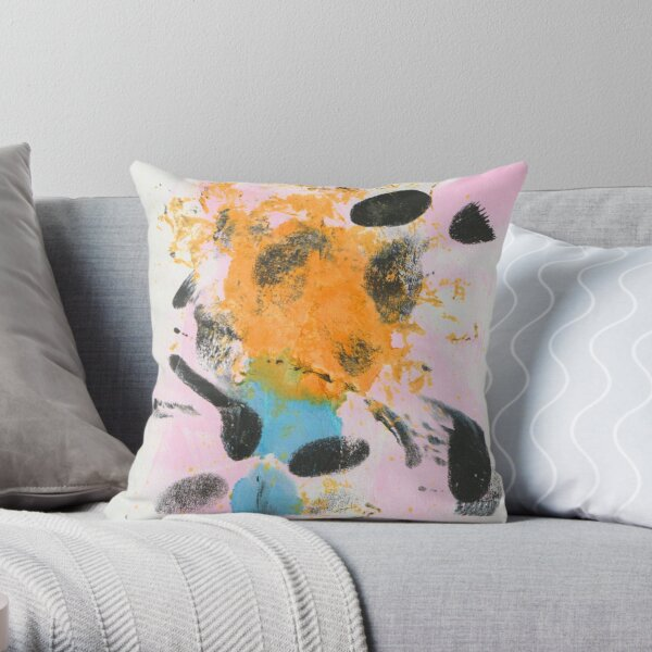 CREATIVE CHAOS Throw Pillow