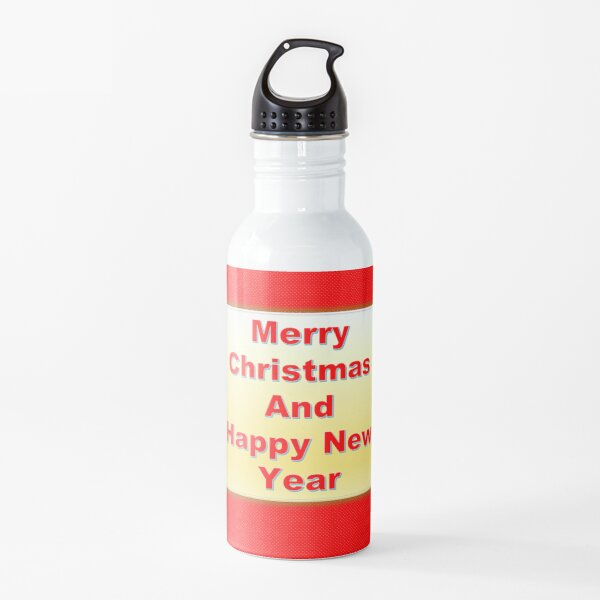 Merry Christmas Extraordinary Water Bottle