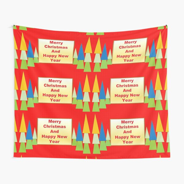 Merry Christmas Extraordinary Tapestry