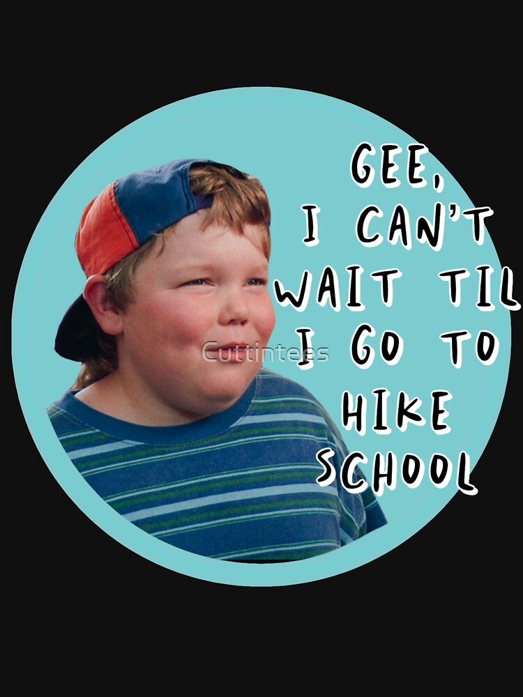 Billy Madison I can't wait til I go to hike school by Cuttintees