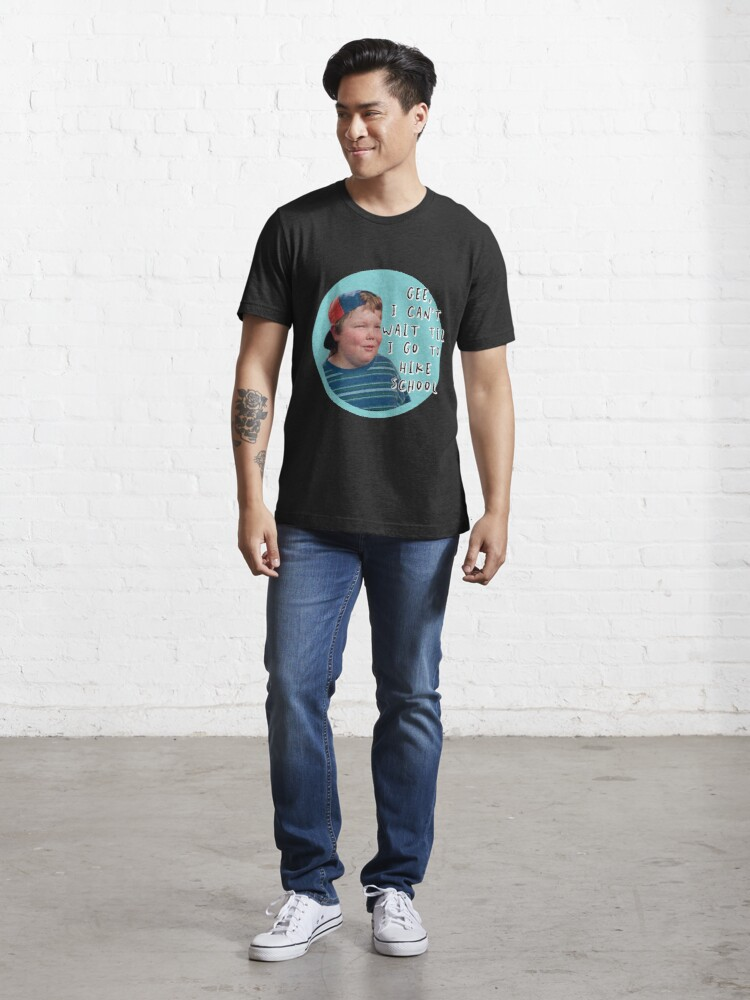 Alternate view of Billy Madison I can't wait til I go to hike school Essential T-Shirt