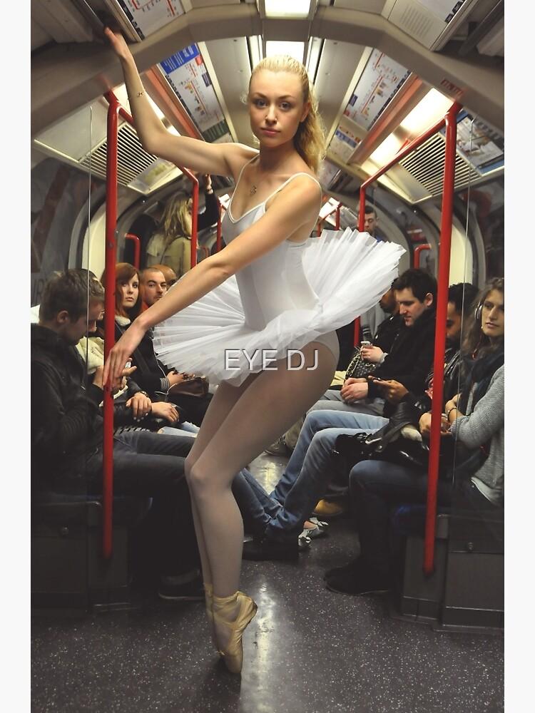 10. Street Ballerina - Central Line, London by iDJPhotography