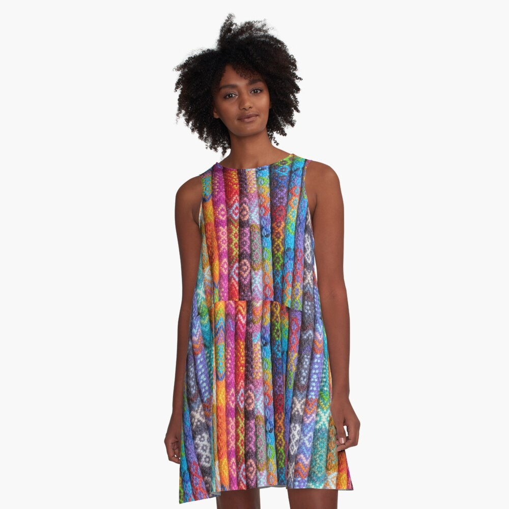 Wool In Color A-Line Dress