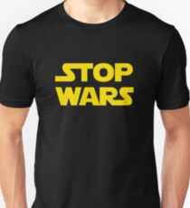 Stop wars (yellow) T-Shirt