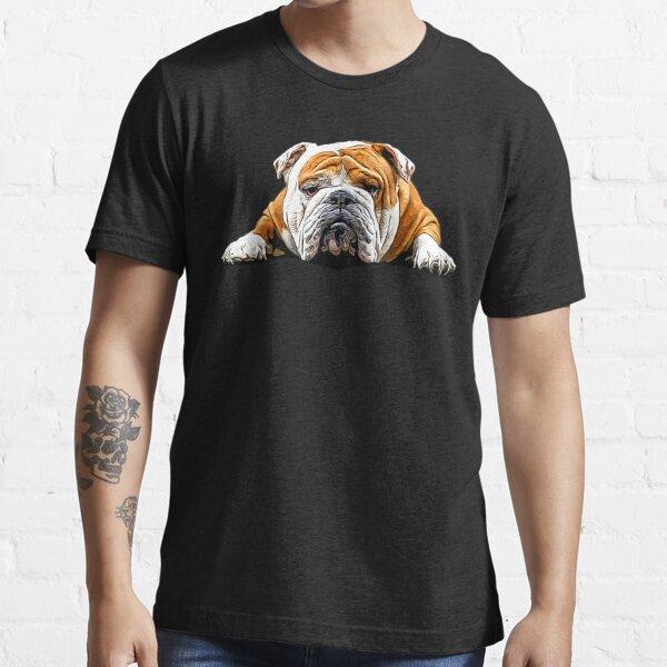 Bulldog Chill Pose - English Bulldog Essential T-Shirt