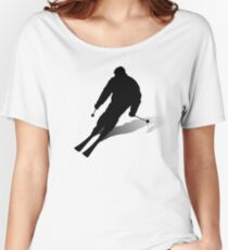 Skier Women's Relaxed Fit T-Shirt