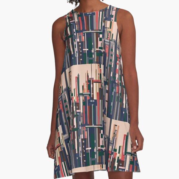 GoldenCity A-Line Dress