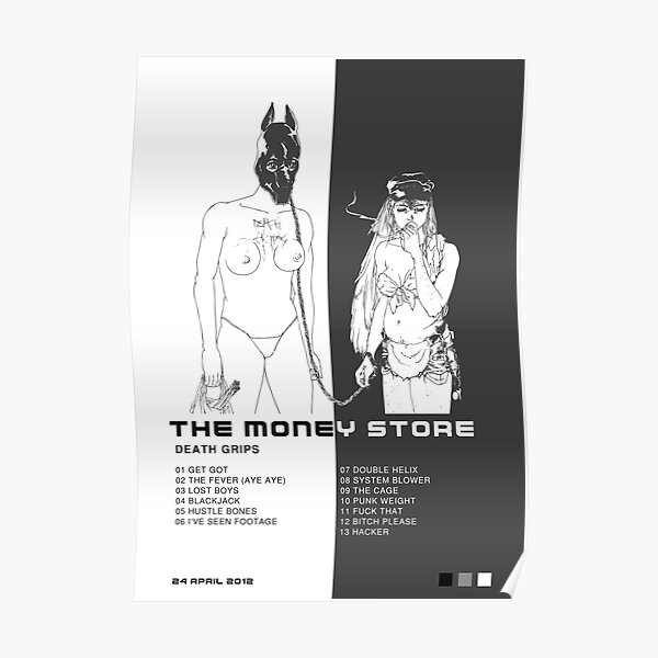 Death Grips The Money Store  Poster Poster