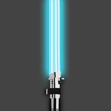 Star Wars - Anakin's Light 'Saver' by fabulouslypoor