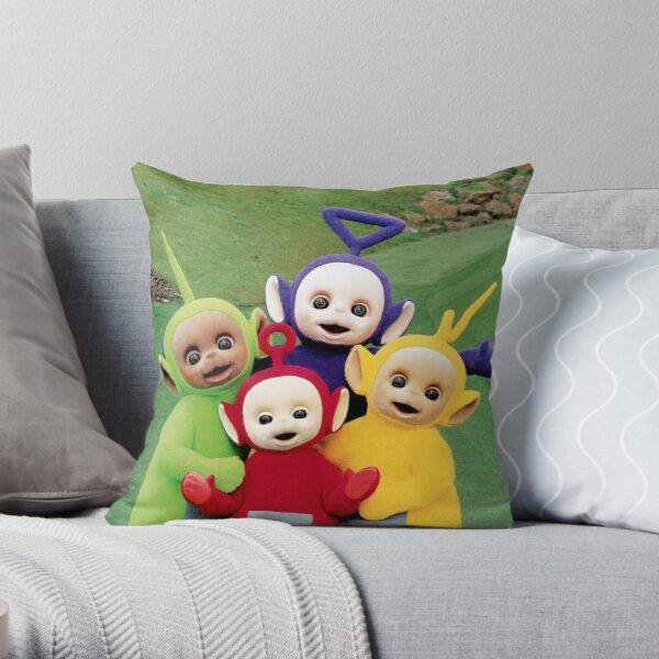 teletubbies baby Throw Pillow