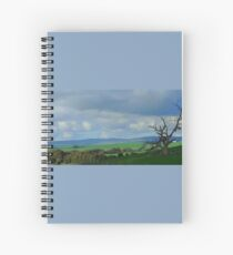Country Fields, South Australia Spiral Notebook