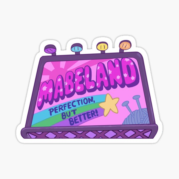 Welcome to Mabeland Sticker