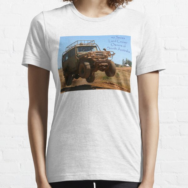 40 Series Landcruisers Owners of South Australia Essential T-Shirt