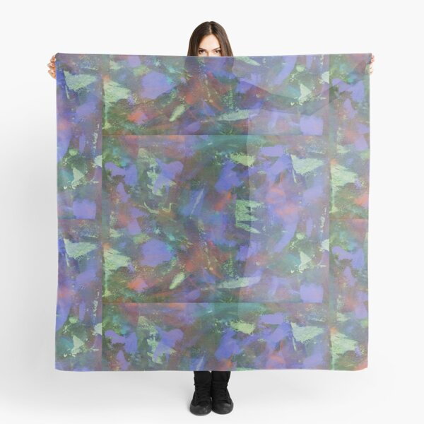 Blue Abstractions Scarf