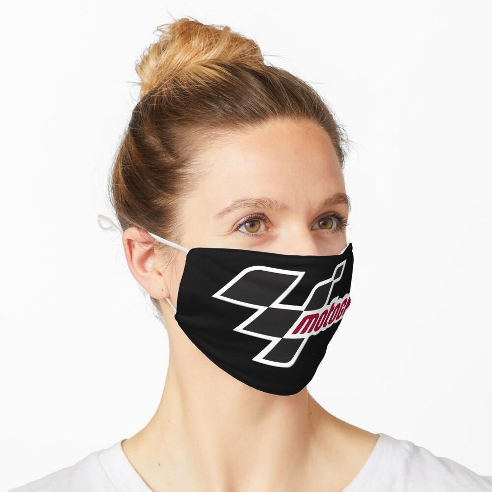 Masque «drapeau de course»