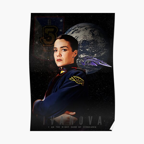 Babylon 5 - Ivanova Poster