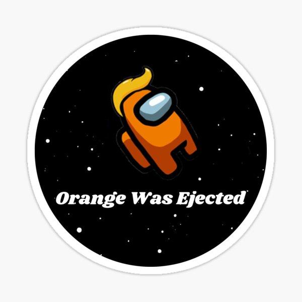Naranja fue expulsada - Círculo Pegatina