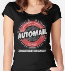 Rockbell Automail Women's Fitted Scoop T-Shirt