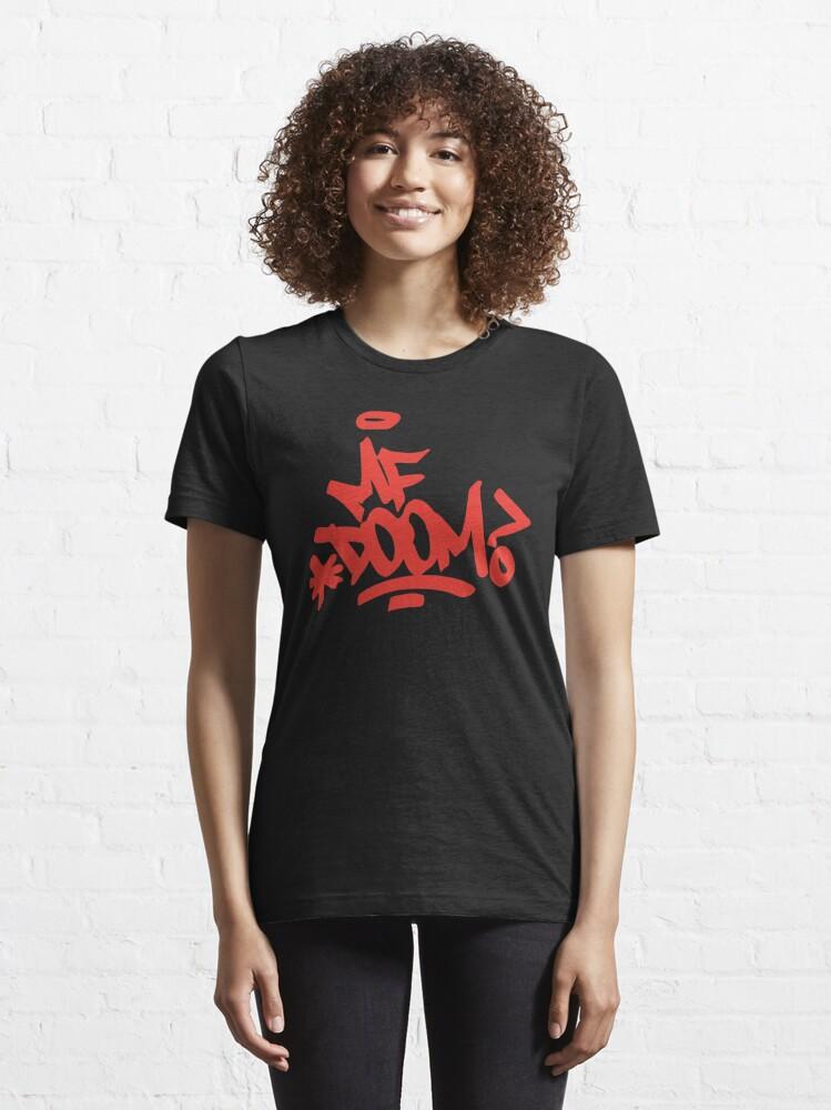 Alternate view of Doom-MF art Essential T-Shirt