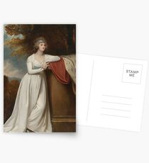 George Romney  Barbara, marchioness of Donegall, ca.  Postcards