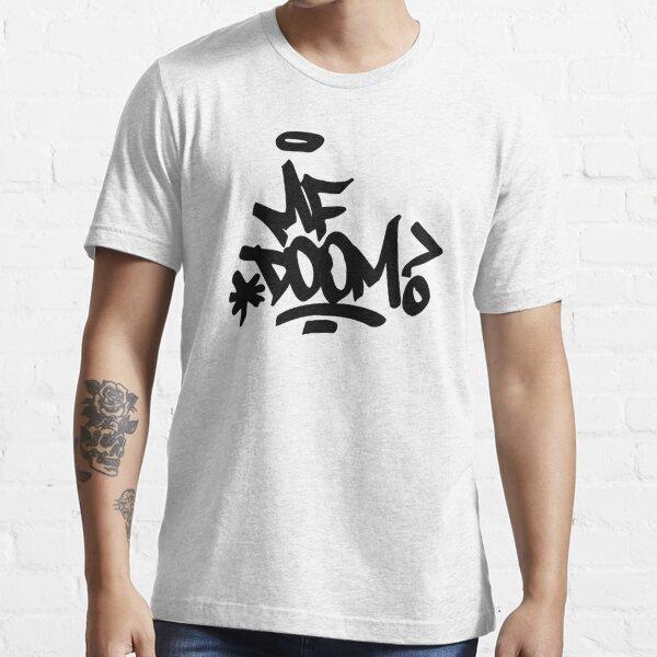 Doom-MF art black Essential T-Shirt