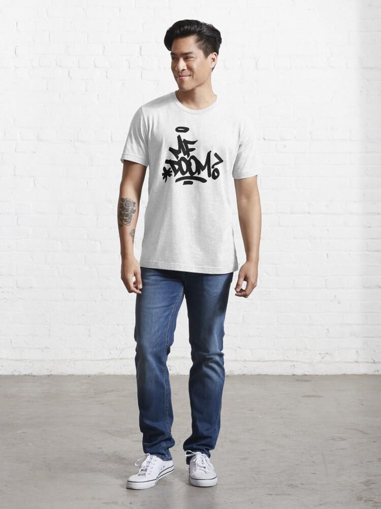Alternate view of Doom-MF art black Essential T-Shirt