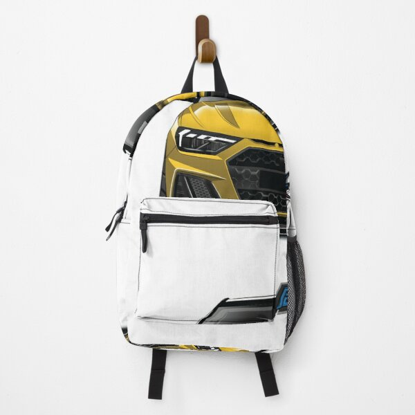 audi a1 yellow Backpack