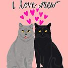 Cat valentine love cute kitten heart cats valentines day pet cat lady by PetFriendly