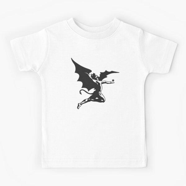 Negro Camiseta para niños