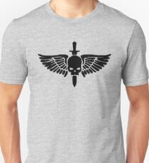 Camiseta unisex Símbolo de Marine Espacial
