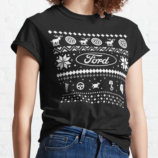 ugly ford  XMAS SWEATER USA Classic T-Shirt