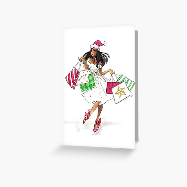 Here Comes Santa! Greeting Card