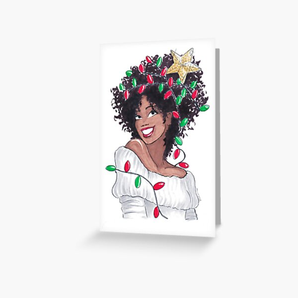 All Wrapped In Lights Greeting Card