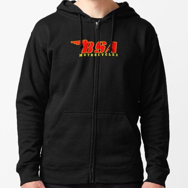 BSA Motorcycles  Zipped Hoodie