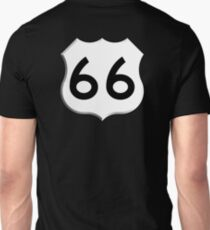 ROUTE 66, Get your Kicks on Route 66, US 66, USA, America, Will Rogers Memorial Highway T-Shirt