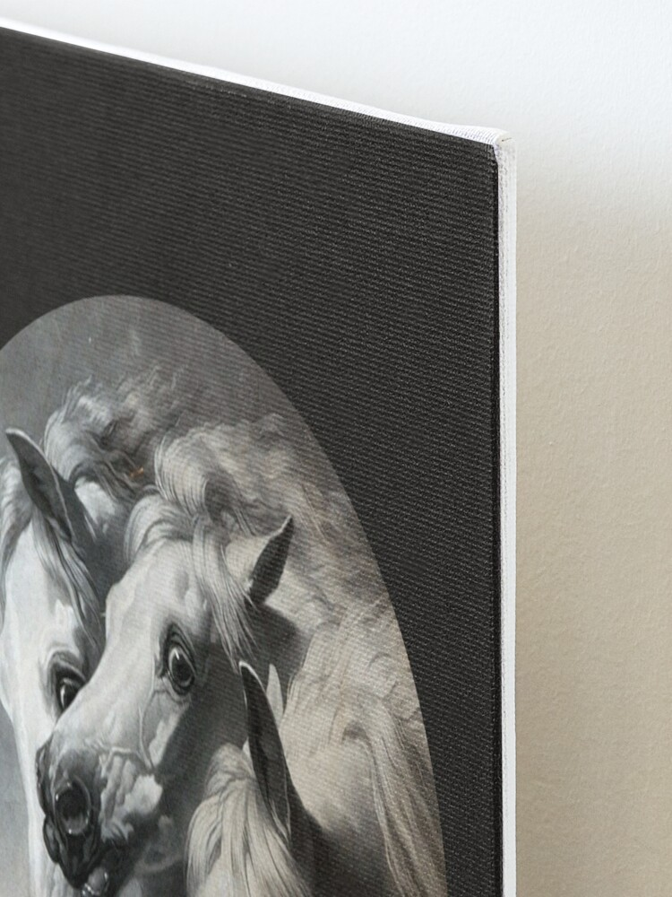 Alternate view of The Pharaoh's Horses Mounted Print