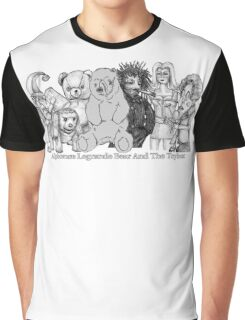 Alphonse Legrande Bear And The Toybox Graphic T-Shirt