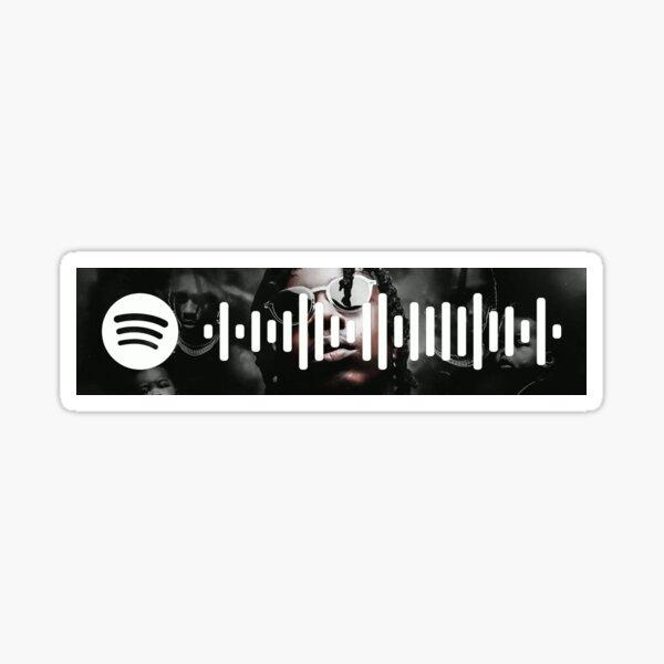 Martin & Gina - Spotify Code Sticker
